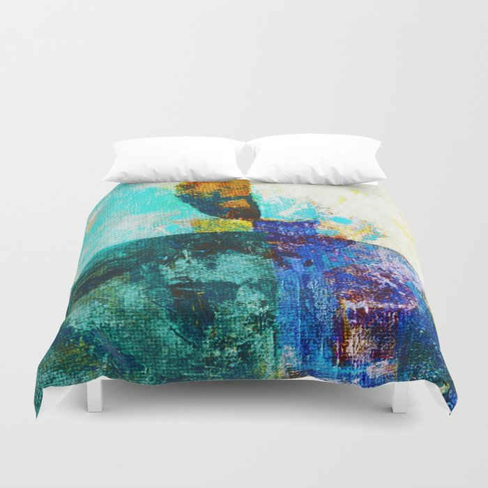 Malevich 2 Duvet Cover