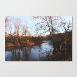 Housatonic Flats XXIV Canvas Print