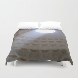 Pantheon, Rome Italy Duvet Cover