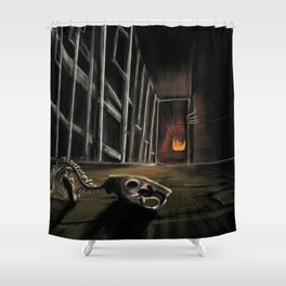 1, 2 ...Freddy's coming for you Shower Curtain
