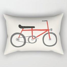 Vintage bike Rectangular Pillow