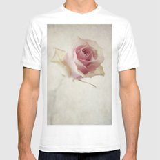 A Flower for You [Textured] Mens Fitted Tee White SMALL