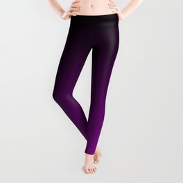 Black and Magenta Gradient 065 Leggings