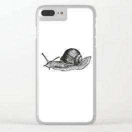 Snail Clear iPhone Case