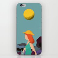 into the wild iPhone & iPod Skins featuring Wild by Riccardo Fred Cusimano