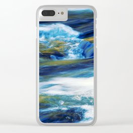 water in abstract Clear iPhone Case