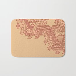 Tessellating Textures Bath Mat