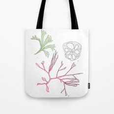 Seaweed and Lotus Root Tote Bag
