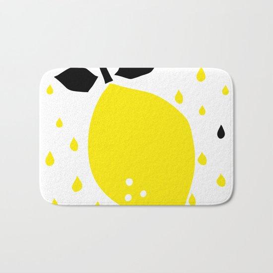 lemon fruits Bath Mat