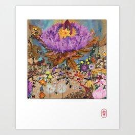 Flower Power (2017) Art Print
