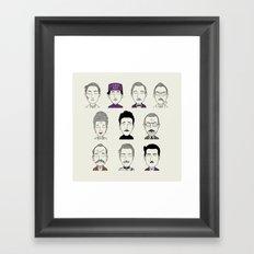 The G B H Framed Art Print