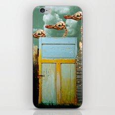 Penguin Walk iPhone & iPod Skin