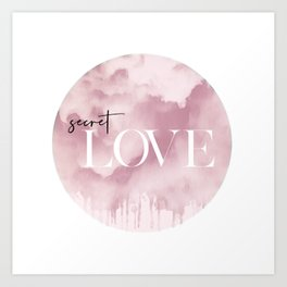 Secret Love Art Print