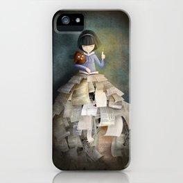 La Bibliothèque Oubliée iPhone Case