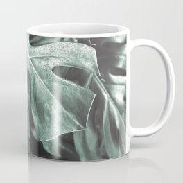 Monstera leaves, Palm Leaf Coffee Mug