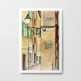 Menton, France Metal Print