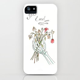 Dead Flowers iPhone Case