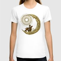 amy T-shirts featuring Moon Travel by Eric Fan