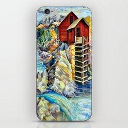 Old Mill Crystal in Colorado iPhone Skin