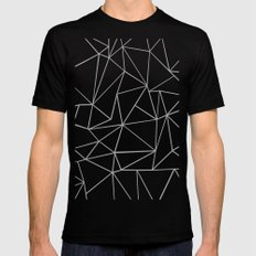 Fracture MEDIUM Black Mens Fitted Tee