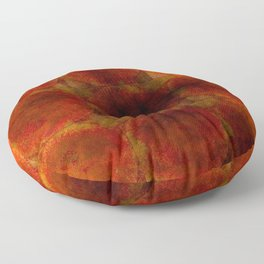Scorched Earth Design Floor Pillow