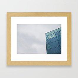 Sky Interrupted Framed Art Print