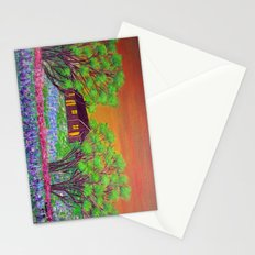 Meadow in the Sunrise Stationery Cards