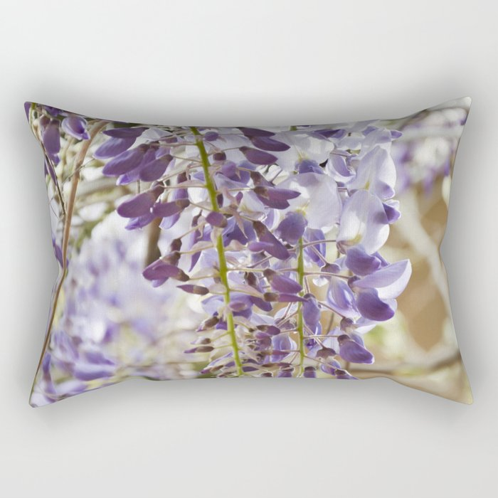 Flower Shower Rectangular Pillow