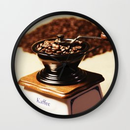 coffee grinder 4 Wall Clock