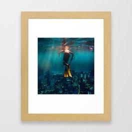 Sunken City Framed Art Print