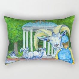 Locals Only  - Chapel Hill, NC Rectangular Pillow