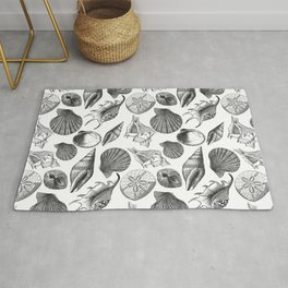 Sea and Ocean Life-Shell Pattern - Mix & Match with Simplicity of life Rug