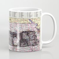 kansas Mugs featuring Kansas by Ursula Rodgers