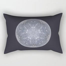 Snow Moon Rectangular Pillow