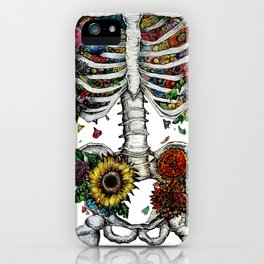 Lovely Bones iPhone Case