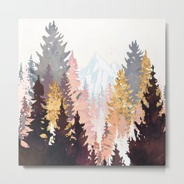 Wine Forest Metal Print