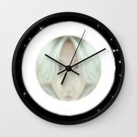 portal Wall Clocks featuring Portal by Geni