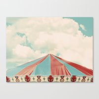 carnival Canvas Prints featuring Carnival by elle moss