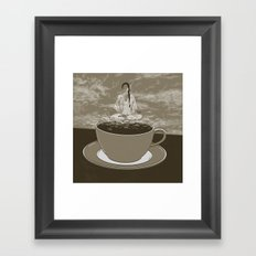 GOOD MORNING 09 Framed Art Print