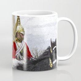Household Cavalry Changing Of The Guard Art Coffee Mug