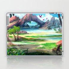 Paradise Beach Laptop & iPad Skin