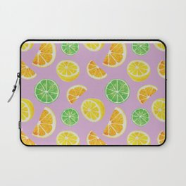 Citrus Pattern Laptop Sleeve