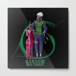 Kakashi Cool Ever Metal Print