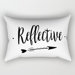 Reflective Lettering-PM coll Rectangular Pillow