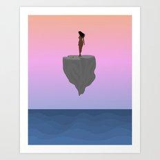 Float//Devote Art Print