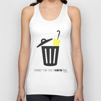 himym Tank Tops featuring Thanks for this HIMYMfinal by Violet's Corner