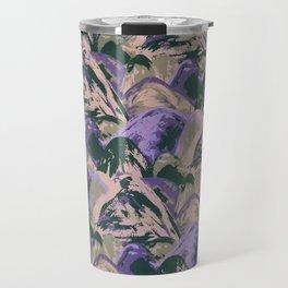 Painted Triangles II Travel Mug
