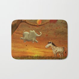 Animals in the Forest Bath Mat