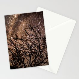 Stars in the Night Sky Stationery Cards