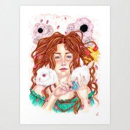Ostara's Blessing Art Print